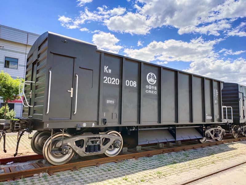 ballast hopper wagon made for Bangladesh