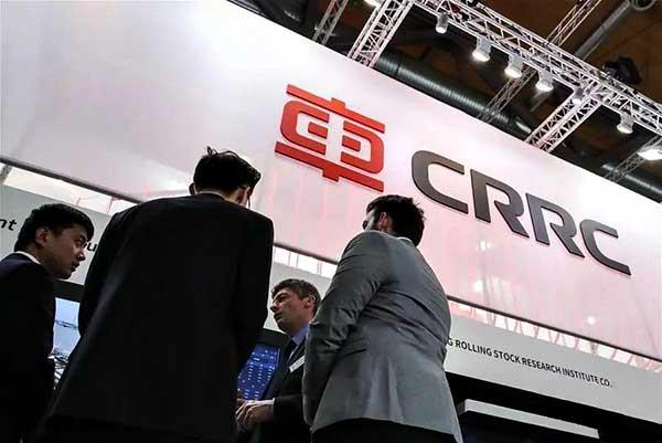 CRRC expert rolling stock manufacturer.